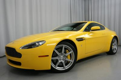 2007 Aston Martin Vantage 6-speed Manual