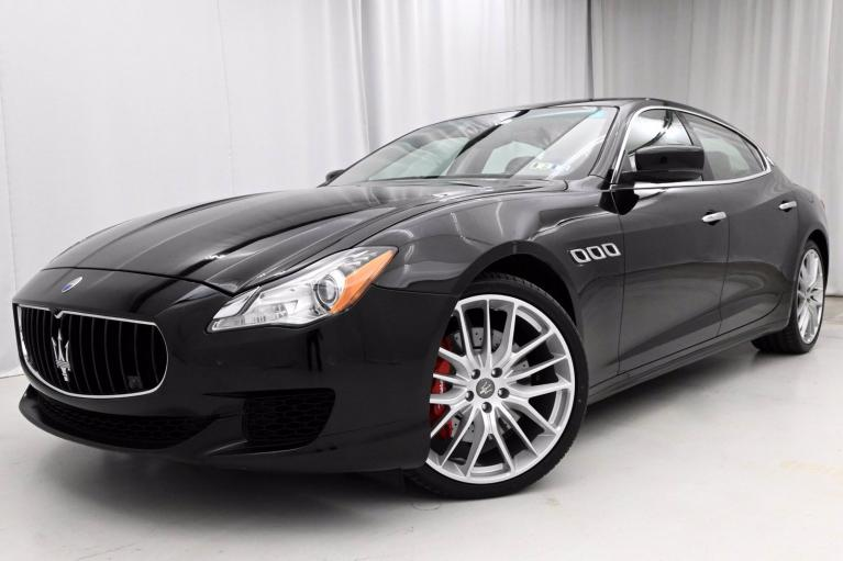 Used 2014 Maserati Quattroporte S Q4 for sale $34,950 at eurocarscertified.com by Automobili Limited in King of Prussia PA'