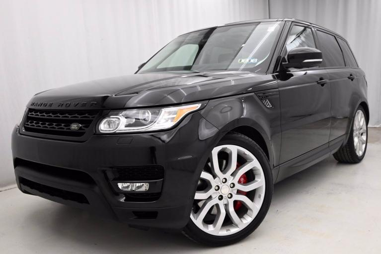 Used 2015 Land Rover Range Rover Sport Supercharged Dynamic for sale $45,950 at eurocarscertified.com by Automobili Limited in King of Prussia PA'